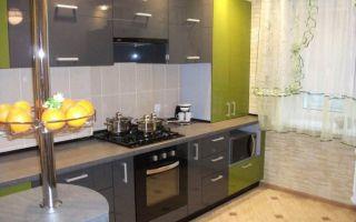 Все этапы ремонта угловой кухни 11 кв. м