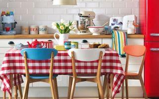 Кухня в стиле ретро: фото, виды оформления, особенности жанра