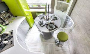 Выбираем дизайн маленькой кухни для малогабаритной квартиры. Фото идей