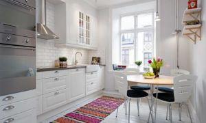 Ремонт небольшой кухни 3х3 метра? Дизайн интерьера. Размещение мебели на 9 кв.м. Фото