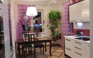 Дизайн параллельной белой кухни 12 кв.м