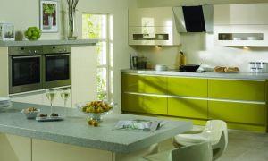 Кухня фисташкового цвета, подходящие комбинации оттенков
