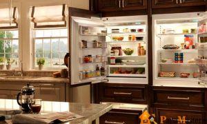 Каких размеров выбрать встроенный холодильник?