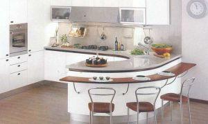 Какая стандартная высота барной стойки на кухне?