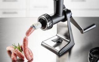 Как разбирается и в чем преимущества механической мясорубки