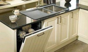 Установка встраиваемой посудомоечной машины в готовую кухню