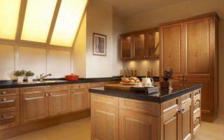 Кухня своими руками из дерева: сборка мебели из щитов