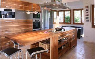 Деревянная столешница для кухни – изготовление своими руками