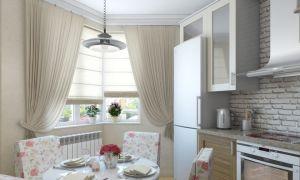Шторы на кухню: дизайн красивых занавесок, гардин, фото в интерьере