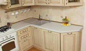 Дизайн кухни в ретро стиле площадью 9 кв.м