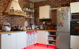 Дизайн кухни в стиле кантри от Икеа