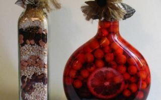 Декор бутылок своими руками – превращение ненужной тары в стильный элемент интерьера