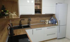 Бюджетный ремонт кухни 11 кв.м. в двухкомнатной квартире