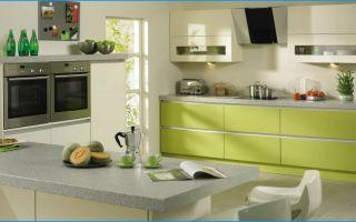 Кухня цвет лайма: фото, оттенки лайма в разных стилях, удачные сочетания