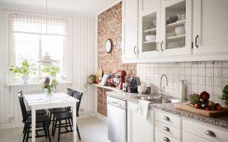 Отделка кухни: варианты, фото в интерьере, обзор современных материалов