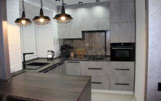 Кухня в 5 м<sup>2</sup> хрущевке, совмещенная с гостиной