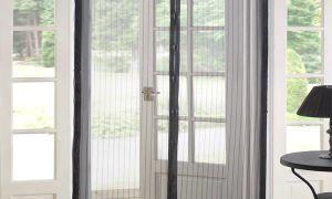 Magic Mesh – москитная сетка на двери. Штора на магнитах от комаров.