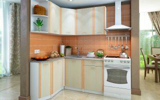 Кухонный гарнитур для маленькой кухни: фото, идеи дизайна, выбор фасадов