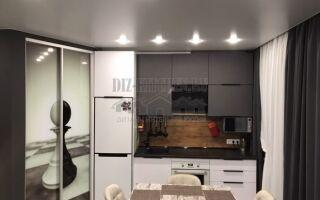 Кухня холостяка в квартире-студии 31 м<sup>2</sup>