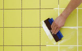 Затирка швов напольной плитки: видео, приготовление раствора, подготовка швов