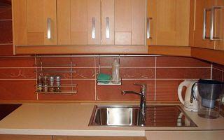 Функциональная кухня в однокомнатной квартире