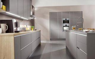 Серая кухня в интерьере: фото, советы по оформлению