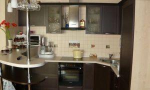 Как своими руками сделать барную стойку для маленькой кухни?