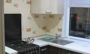 Ремонт своими руками и дизайн угловой кухни 5,5 кв.м