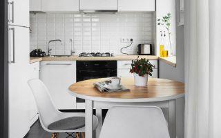 Кухонный стол для маленькой кухни: тонкости выбора обеденной группы