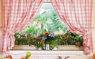 Как сшить шторы на кухню своими руками с выкройками: мастер-класс