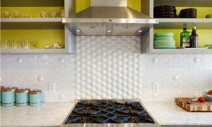 Из чего сделать фартук на кухне: популярные материалы, монтаж своими руками