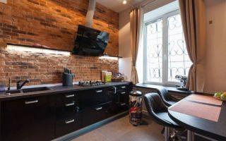 Секреты оригинального дизайна кухни в стиле лофт