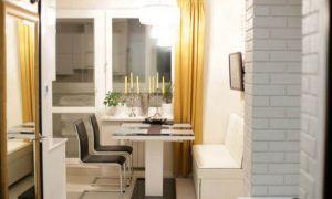 Спальное место на кухне площадью 12 кв.м