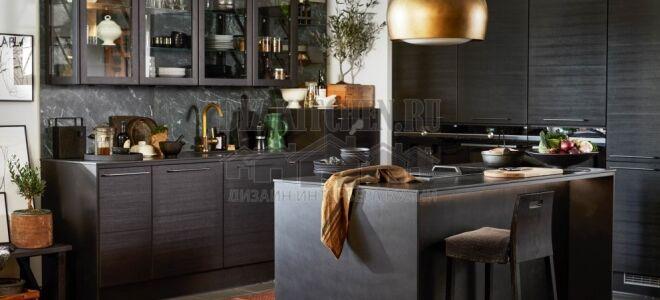 Экологичная кухня Puustelli Miinus с верхними секциями без задних стенок