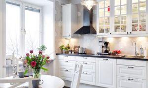 Белая кухня в интерьере: фото, особенности дизайна с изюминкой