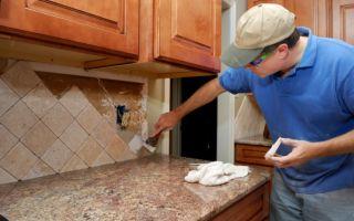 Как правильно класть плитку на кухне?