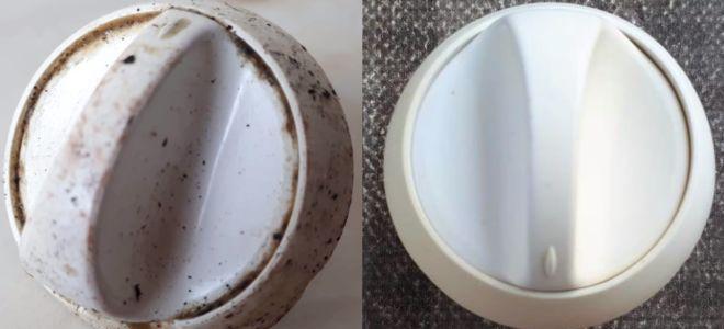 Как легко отмыть ручки плиты от жира в домашних условиях?