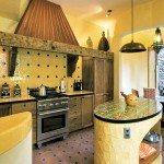 Кухня в средиземноморском стиле: фото, особенности, правила декорирования