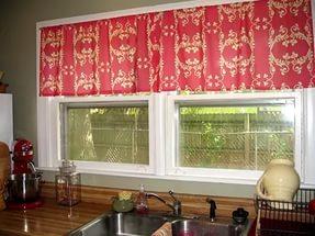 Дизайн штор на маленькую кухню