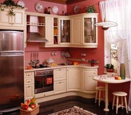 Классический стиль кухни в хрущевке
