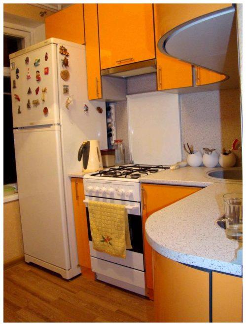 Размещение холодильника в хрущевке