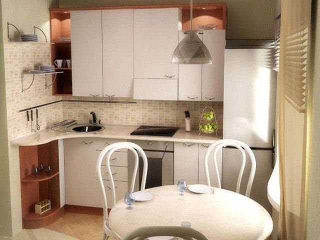Дизайн маленькой (6 кв.м.) кухни