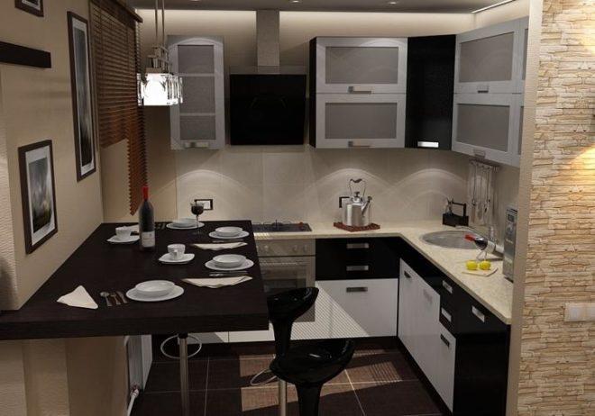 Дизайн кухни в хрущевке без холодильника