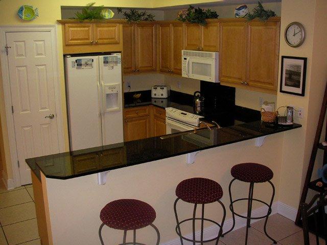Вариант зонирования кухонного пространства