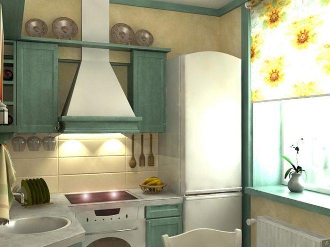 Дизайн маленькой кухни в квартирах-хрущевках