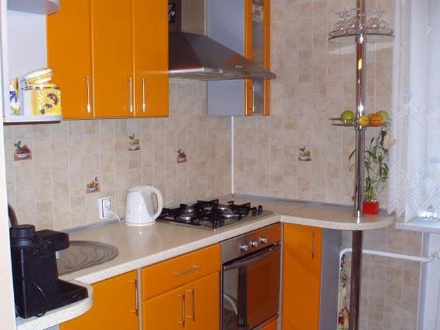 Ремонт кухни 6 кв.м.