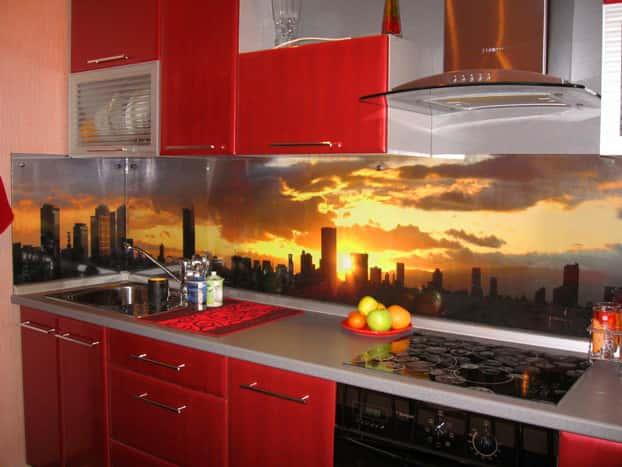 мегаполис на красной кухне