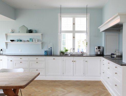 кухня без навесных шкафов 1