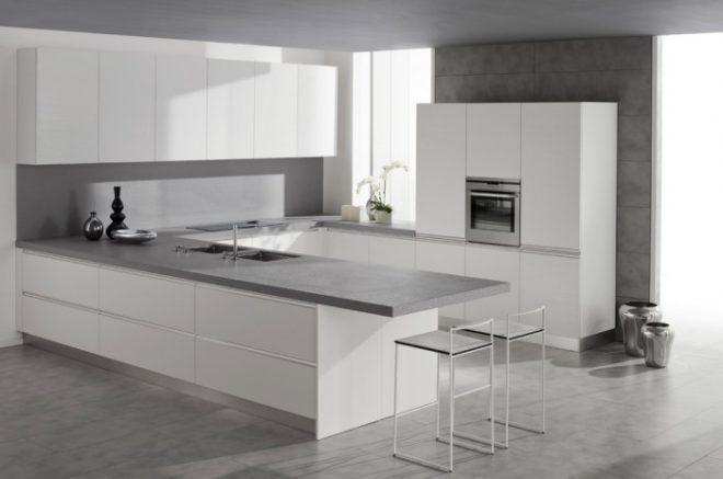 бетонная кухня