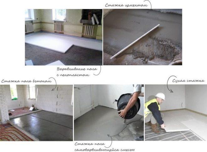 бетонные стяжки